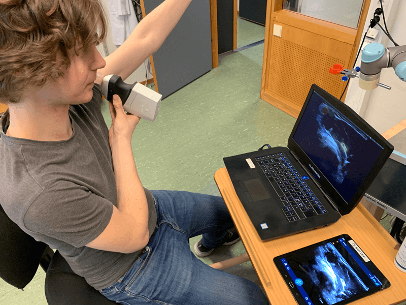 Using a Clarius scanner for research