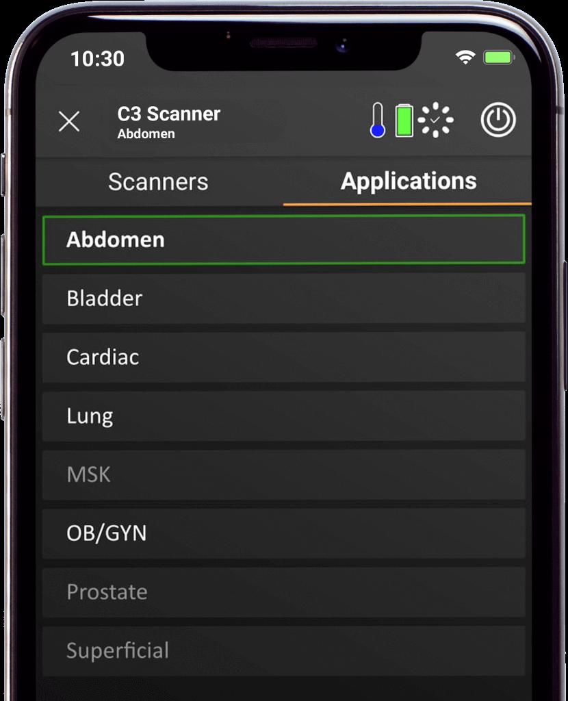 Mobile App Clarius